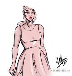 Sketchy Pastel by sketchartbymarc