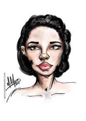 Sketchy Beauty by sketchartbymarc