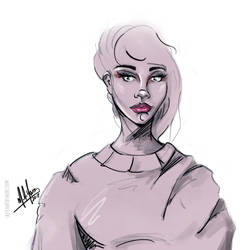 Girl 48 by sketchartbymarc