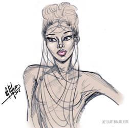 Girl 49 by sketchartbymarc