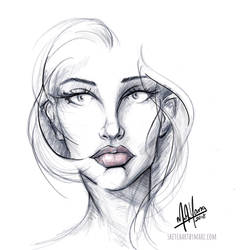 Girl 62 by sketchartbymarc