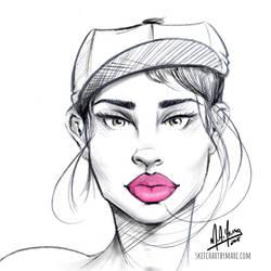 Girl 65 by sketchartbymarc