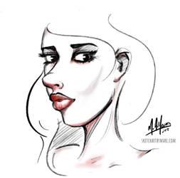 Girl 68 by sketchartbymarc