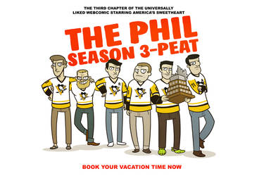 The Phil - Season 3-Peat Cover by cityfolkwebcomic