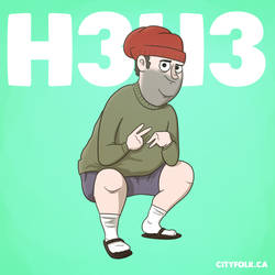 H3h3 by cityfolkwebcomic