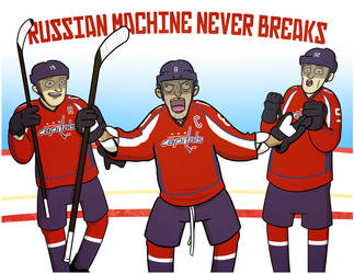 Russian Machine Never Breaks by cityfolkwebcomic