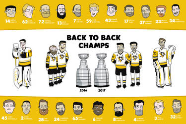 Back to Back Champs Poster by cityfolkwebcomic