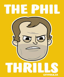 The Phil Thrills - new poster by cityfolkwebcomic