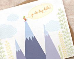Yo-de-lay-hello Card by happydappybits