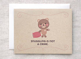 Teddy Bear Card by happydappybits