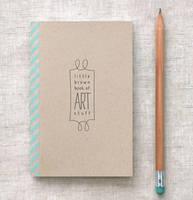 Little Brown Book of Art Stuff by happydappybits
