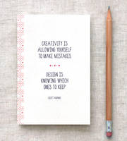 Creativity - Mini Journal by happydappybits