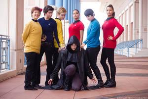 Star Trek Into Group Photo of Darkness by stillreflection