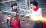 Akira Battle by stillreflection
