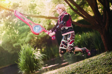 Xenoblade Chronicles - Shulk by stillreflection