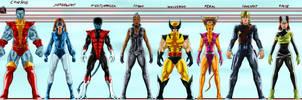 X-MEN team my version by joshdancato