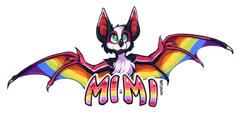 Badge for Mimi by Ratlovera