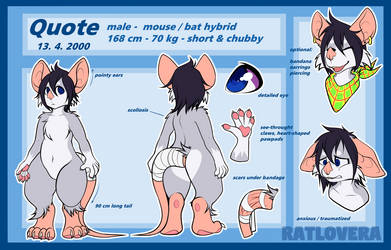 QUOTE REF SHEET by Ratlovera