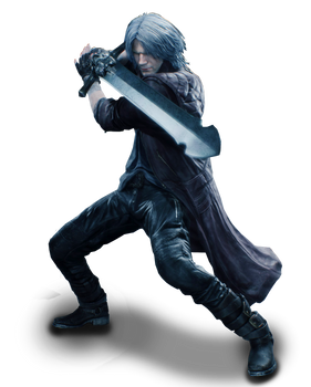 Dante Rebellion - PNG render by MaryLander97