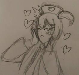 Rin doodle bc I love Rin by DootDoo