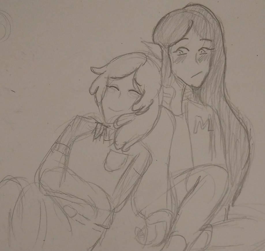 PB and Marcy by DootDoo