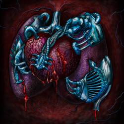Mechanical Heart by beanarts