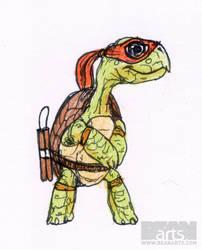 Old Ninja Turtle by beanarts