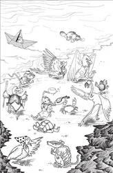 Alice in Wonderland Corsa by euriante
