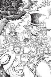 Alice in Wonderland Tea by euriante