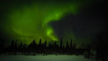 Aurora Borealis by hawwe