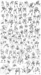100 Mechs! by entroz