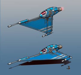 The C2 Pythagoras Starfighter by entroz