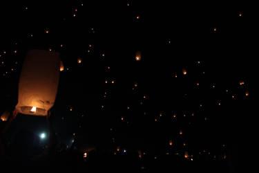 Lanterns 2 (09/17) by Karakata