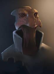 Alien Face by Sirgurra