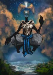 God Of Wisdom by Sirgurra