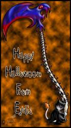 Halloween 2008: Death Eydis by Rapha-chan