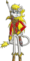 Caliburn: Smexy Lion Hologram by Rapha-chan