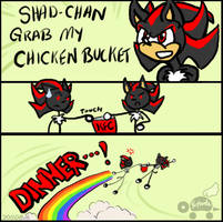 Meme: Grab My Chicken Bucket! by Rapha-chan