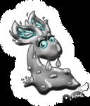 PKMNC: Iblis The Shiny Slugma by Rapha-chan