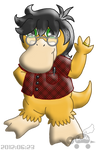PKMNC: Wyborn's Dad - Melvin Bramblepelt by Rapha-chan