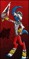 PKMNC: Rose War - Wyborn As Sir Galahad by Rapha-chan
