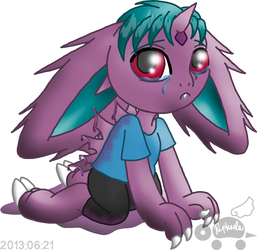PKMNA: Jace - Mommy, what's wrong with me...? by Rapha-chan