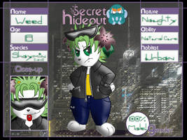 Secret Hideout Application: Weed [OLD] by Rapha-chan