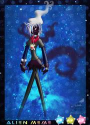 PKMNA: Alien Meme - Jace, The Pitch-Black Pokemon by Rapha-chan