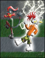 PKMNSkies: April Showers - High Voltage by Rapha-chan