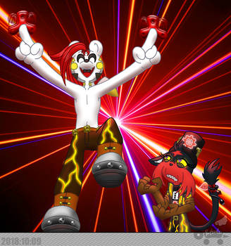 PKMNSkies: Laser Tag - Flash Dance! by Rapha-chan
