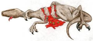 Old - Dead Raptor by Rapha-chan