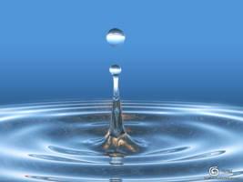 3D Waterdrop by V3N0MX92