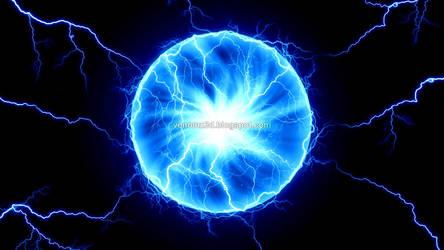 Lightning sphere by V3N0MX92