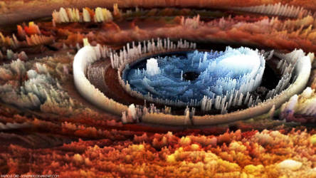 Eye Texture Particle Grid - 3Ds MAX by V3N0MX92